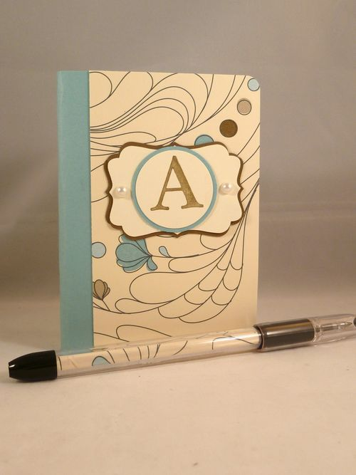 Altered Notebook & Pen
