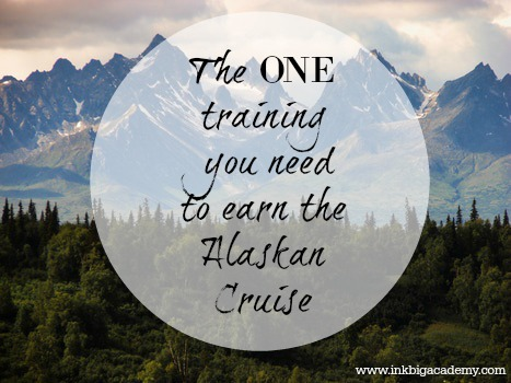 Stampin'Up! Alaskan Cruise incentive trip training, business tips