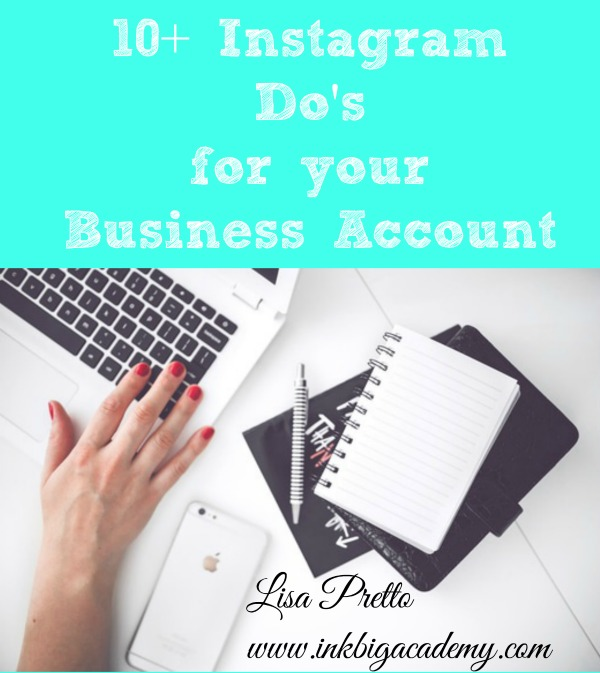Stampin'Up! Business Tips, Instagram, Lisa Pretto, inkbigacademy